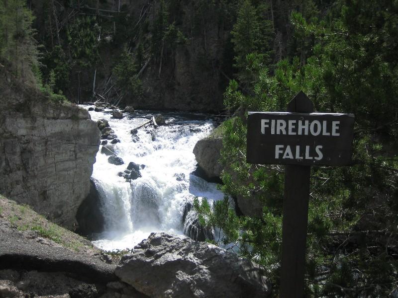 Fireholefalls