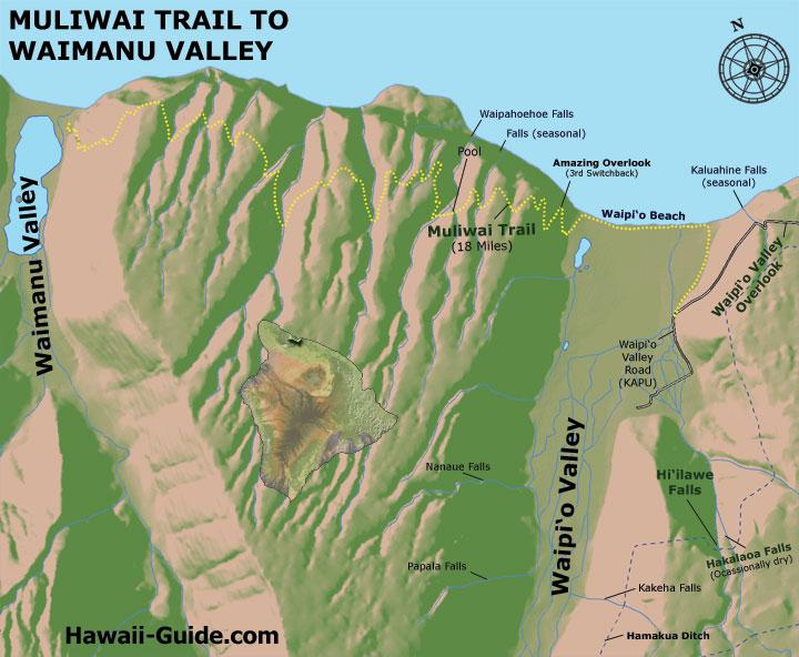 muliwai_trail_map